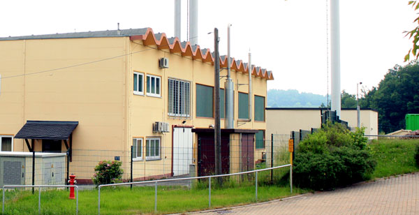 Gebäude Eigenbetrieb Fernwärmeversorgung Lößnitz