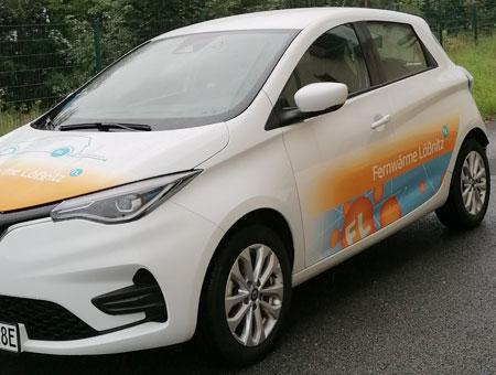 Renault Zoe Z.E. - Zweites Elektrofahrzeug der Fernwärmeversorgung
