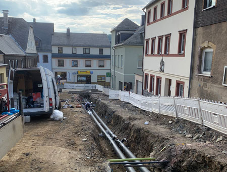 Weiterer Ausbau Nahwärmenetz Altstadt Lößnitz